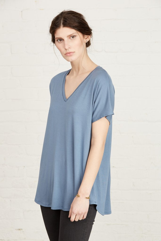 3. The Liv Relaxed V-Neck Tee