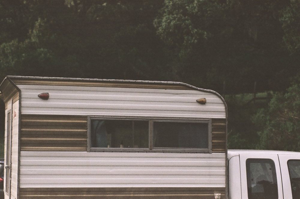 Pentax k2 film shot of the camper/turtle shell.