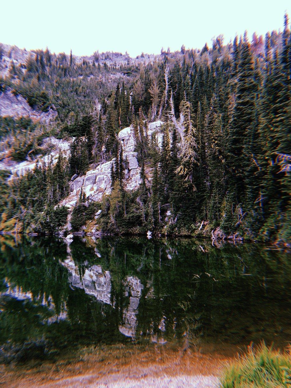 Heart Lake.
