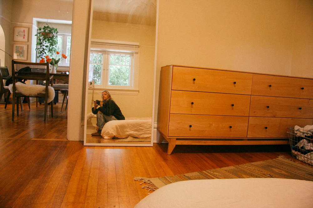 in Christiana's home in Eugene, Oregon.