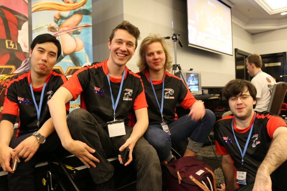 Dark Sided team at Ozhadou Nationals (OHN)