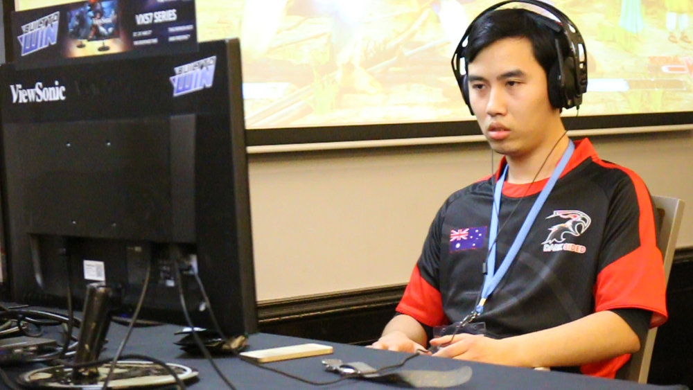 Dark Sided Street Fighter V Player ZG