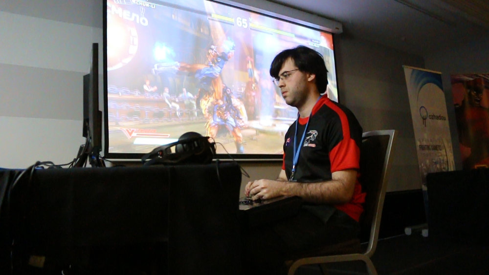 Dark Sided Street Fighter V Player Falco
