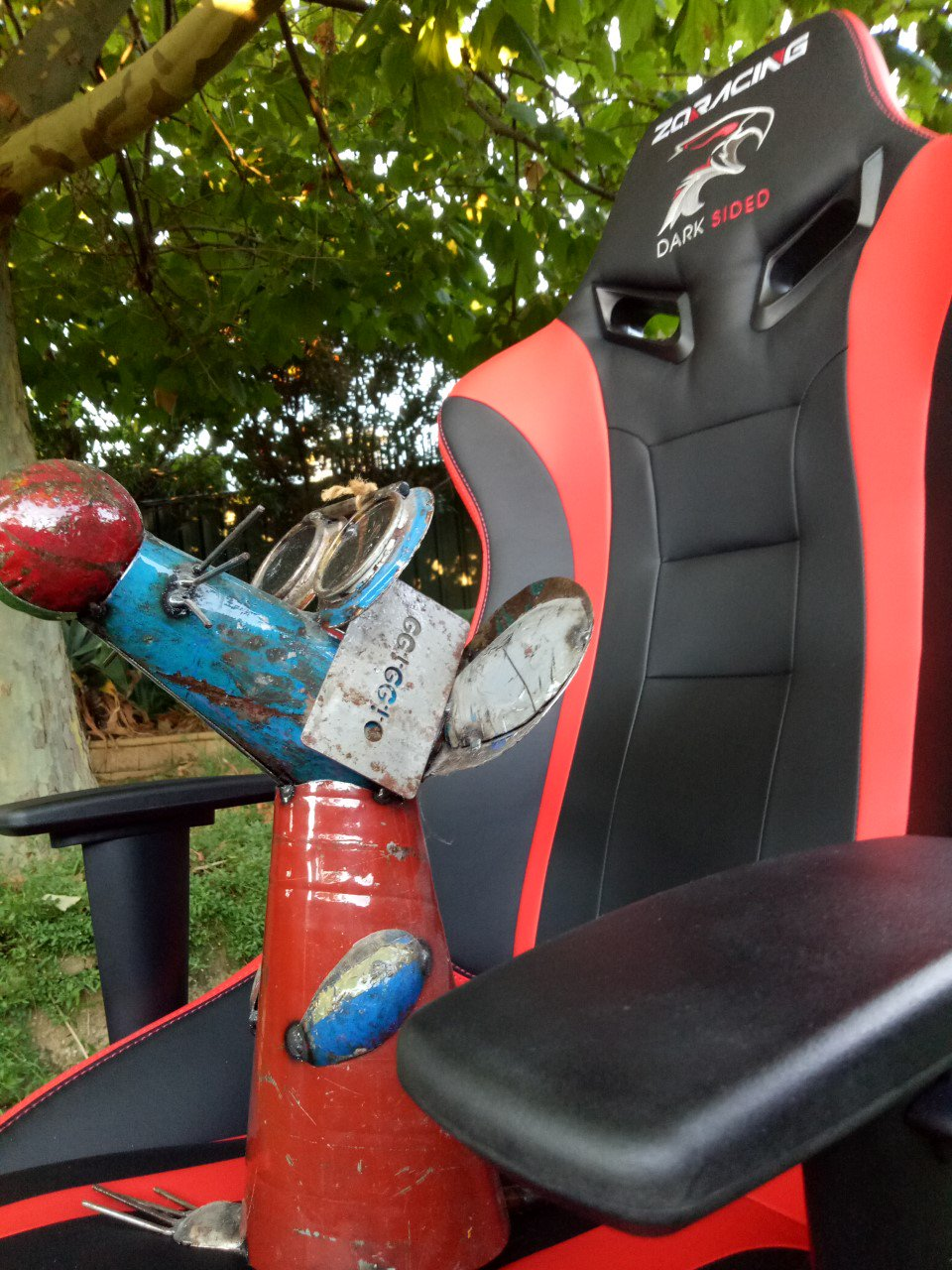 Dark Sided Falco's ZQRacing Gaming Chair