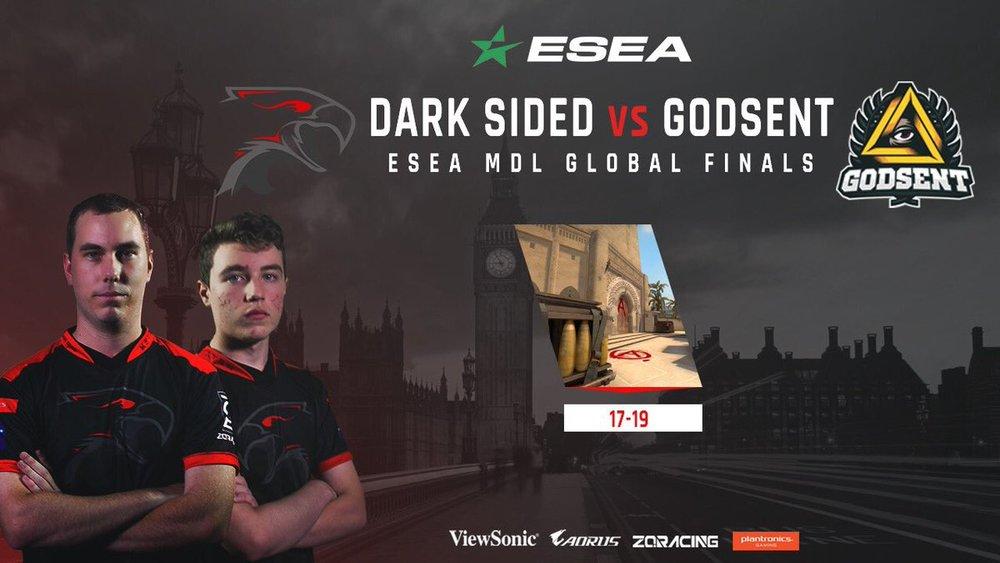 Dark Sided team vs Godsent - ESEA