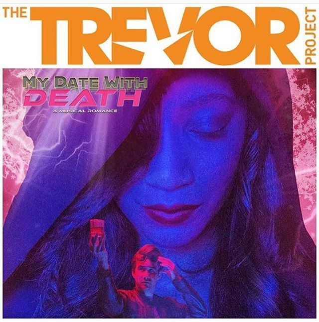 Excited to announce $1 from every ticket for #MyDateWithDeath sold on the Zoo Website will go to @trevorproject, the world's largest suicide prevention and crisis intervention organization for LGBTQ youth. Get your tickets today for the World Premiere at link in bio! . . #lathtr #artforacause #trevorproject #thetrevorproject #zootheatre #datewithdeath #notalone #beinghuman #latheatre #newproject #newmusical #santamonica #westhollywood #seesantamonica #thingstodoinla