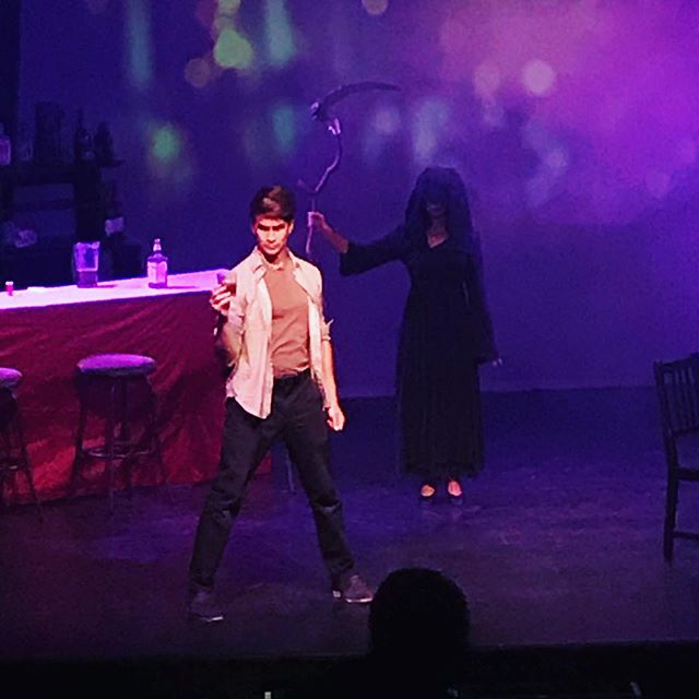 No matter what we know death to be, humans love, create, inspire anyway... . #MyDateWithDeath #techweek #lathtr #santamonica #broadwayworld #broadway #newmusicals #notalone #trevorproject #soulsenergies #alanwatts #seesantamonica