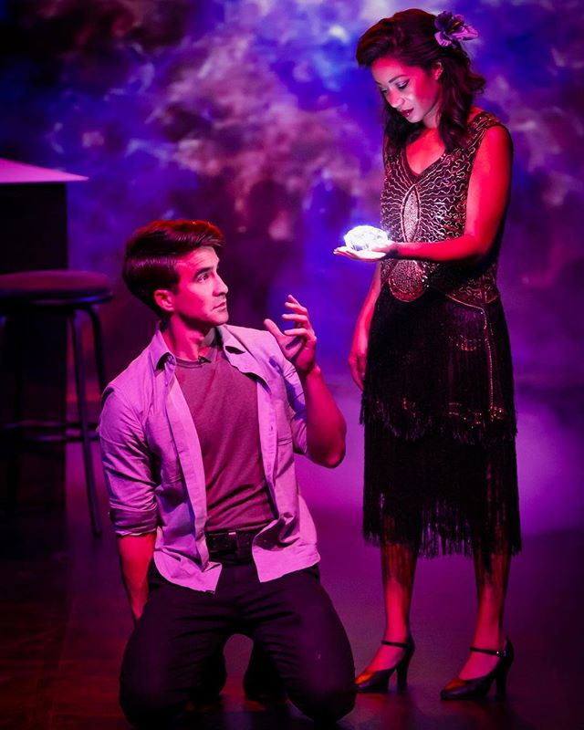 What's happening?! Find out at the world premiere of #MyDateWithDeath Saturday at 8:00pm in Santa Monica. . . With @samanthamarkita @sugimation amazing photo by @mattkamimura . . #lathtr #santamonica #newmusical #photo #photography #musical