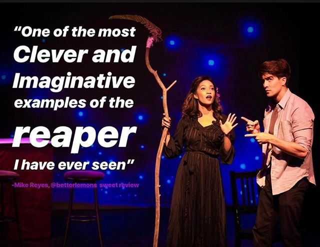 "100% sweet audience review on @betterlemons! Don't miss this ""raw and intimate"" show. . . #mydatewithdeath #sugimation #zootheatre #lathtr #newwork #newmusical #notalone #thetrevorproject #suicideprovention #newmusic #artheals #latheatre #musicalsinla #bethechange #review #betterlemons #lemonmeter #sweet @samanthamarkita @sugimation"