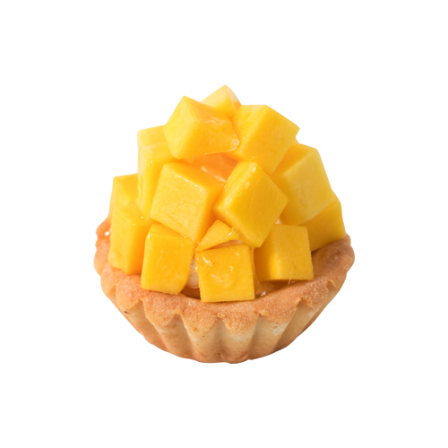 Fresh Mango Custard Tart