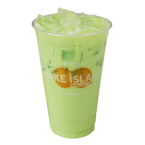 -                       Fresh Avocado Green Tea