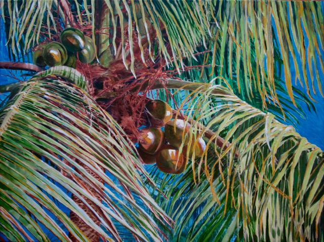 """Palm Breeze"" by Nancy Yarnall von Halle©"