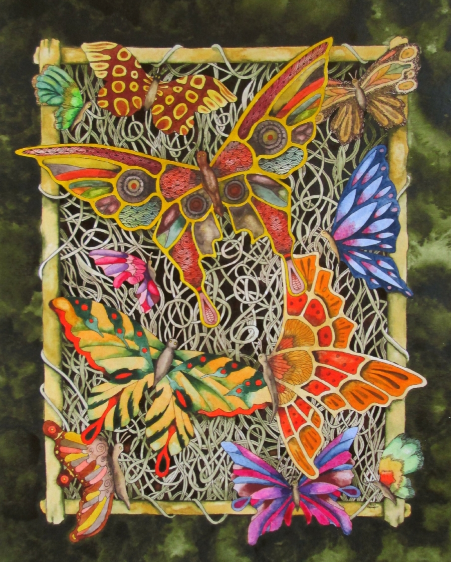 """Butterfly Tapestry"" by Peter Ehlinger©"