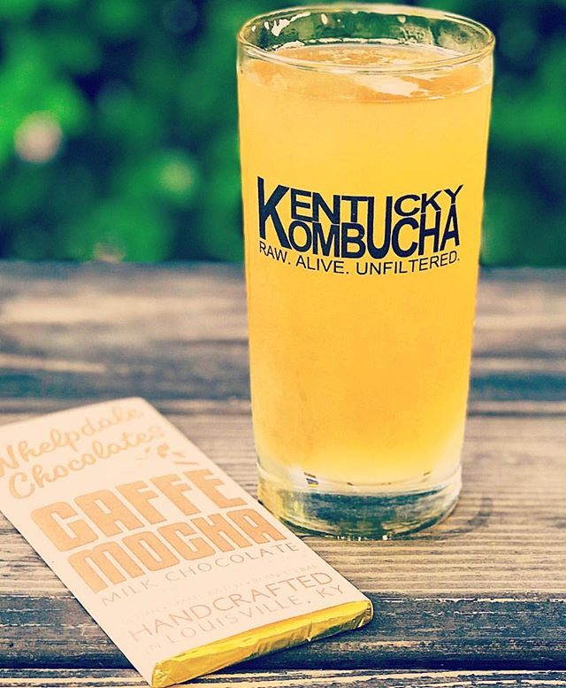 Repost by @kenni_jay with our favorite @kentuckykombucha ✨