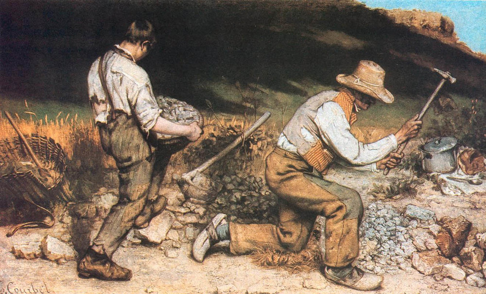 The Stone Breakers, 1849–50