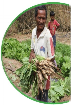 CROP SEEDS FOR FAMILIES IN A REMOTE VILLAGE  $10 -