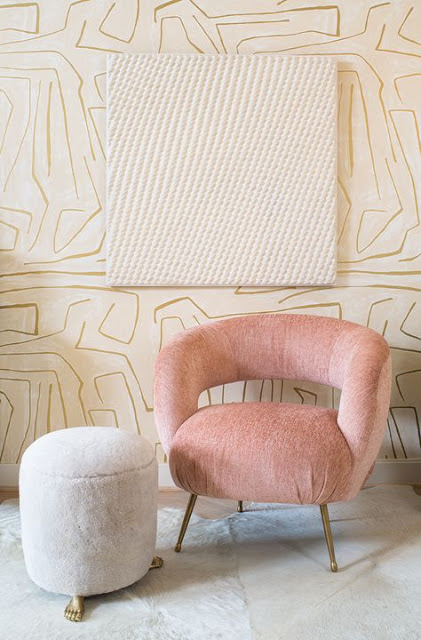 The Laurel Chair designed by Kelly Wearstler is now on my wishlist!