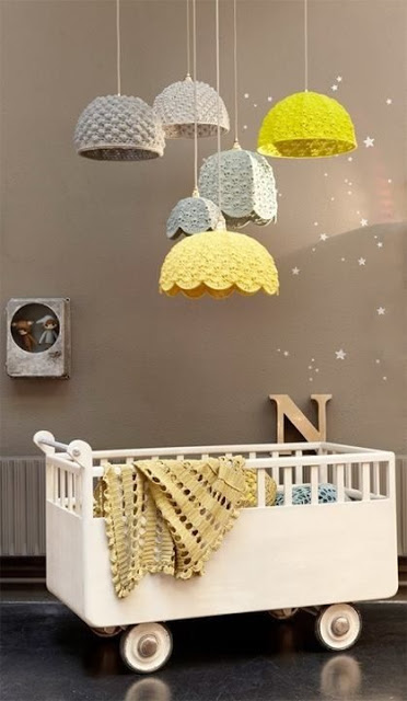 Unsure of how practical this crib is, but I love the vintage feeling it exudes; and the colors incorporated kind of amplifies that.