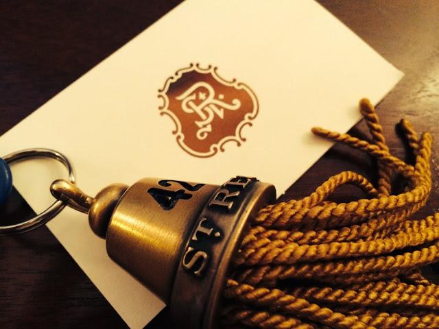A tassel for a key.