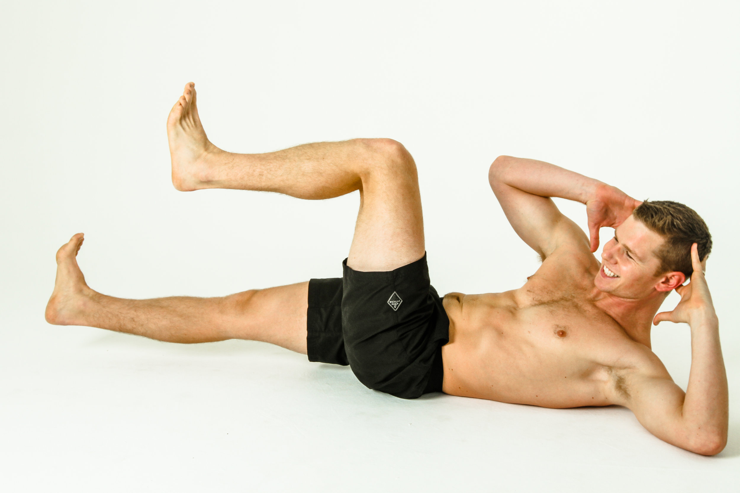 Bicycle Crunches For Core Strength The Movement Corner