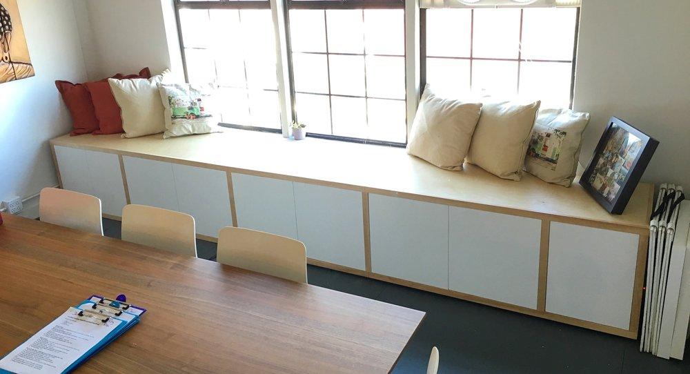 14 foot storage bench