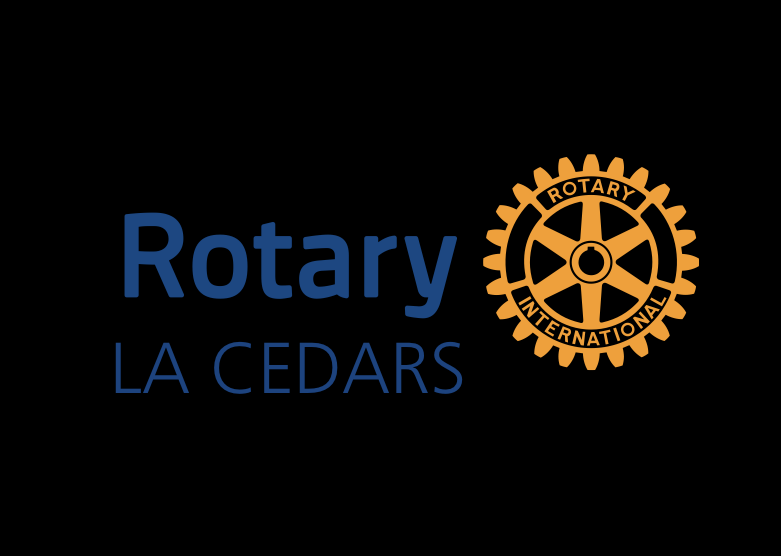 "Rotary LA Cedars ""We support the play because of its contributions to art in our community."""