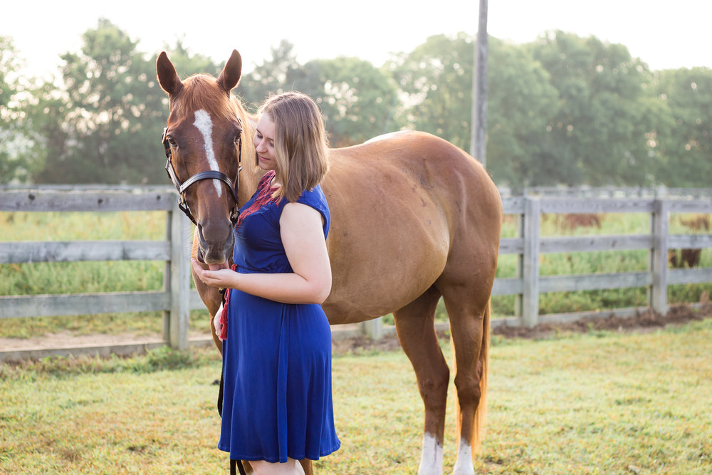 Richmond family and equine portrait photography