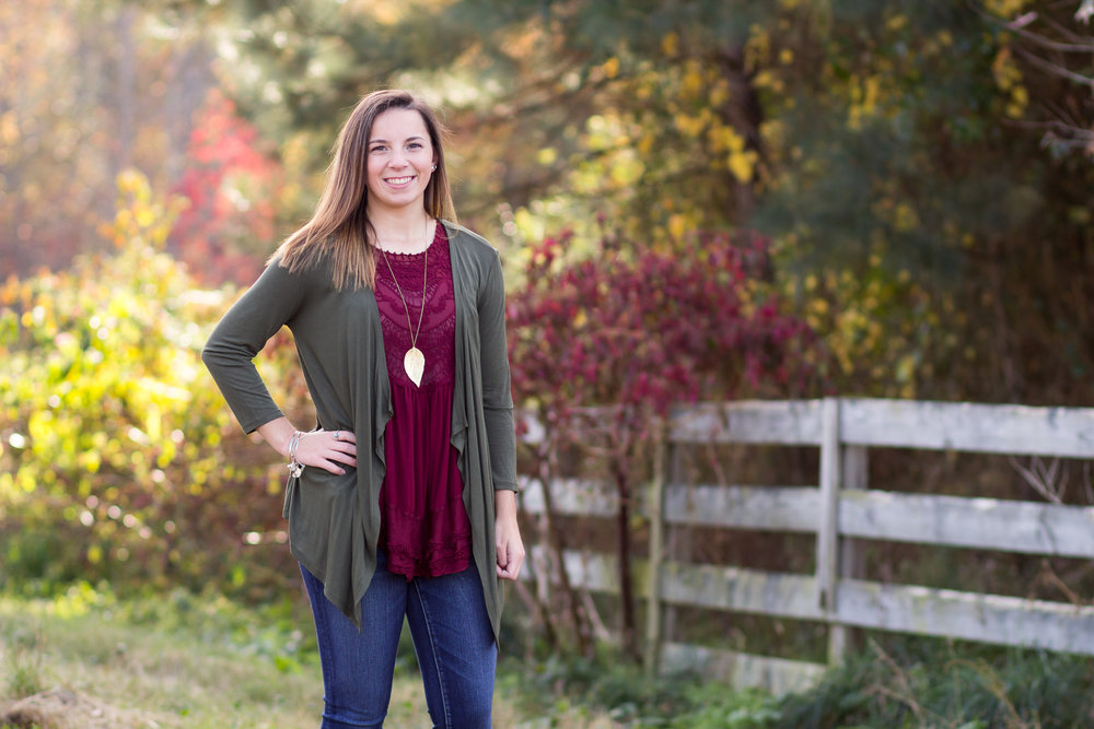 Virginia Senior Portrait Photography