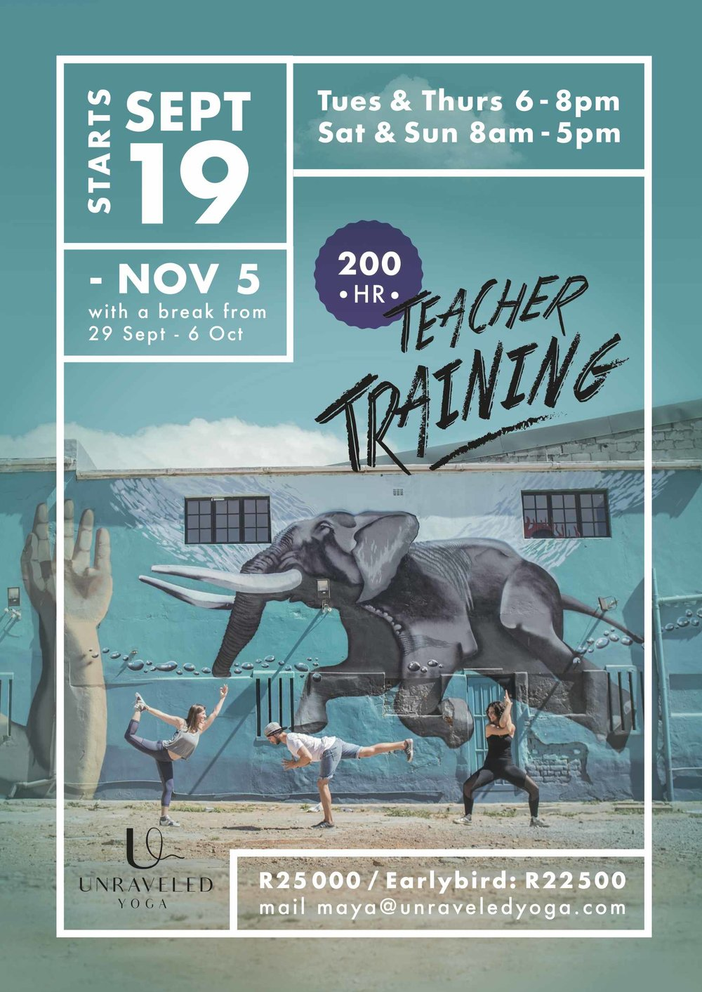 Cape Town Yoga Teacher Training 200 hour yoga teacher