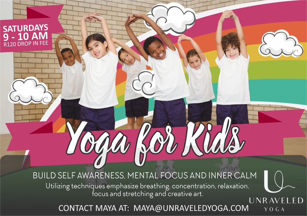 cape town yoga vinyasa yoga yoga for kids kids yoga cape town