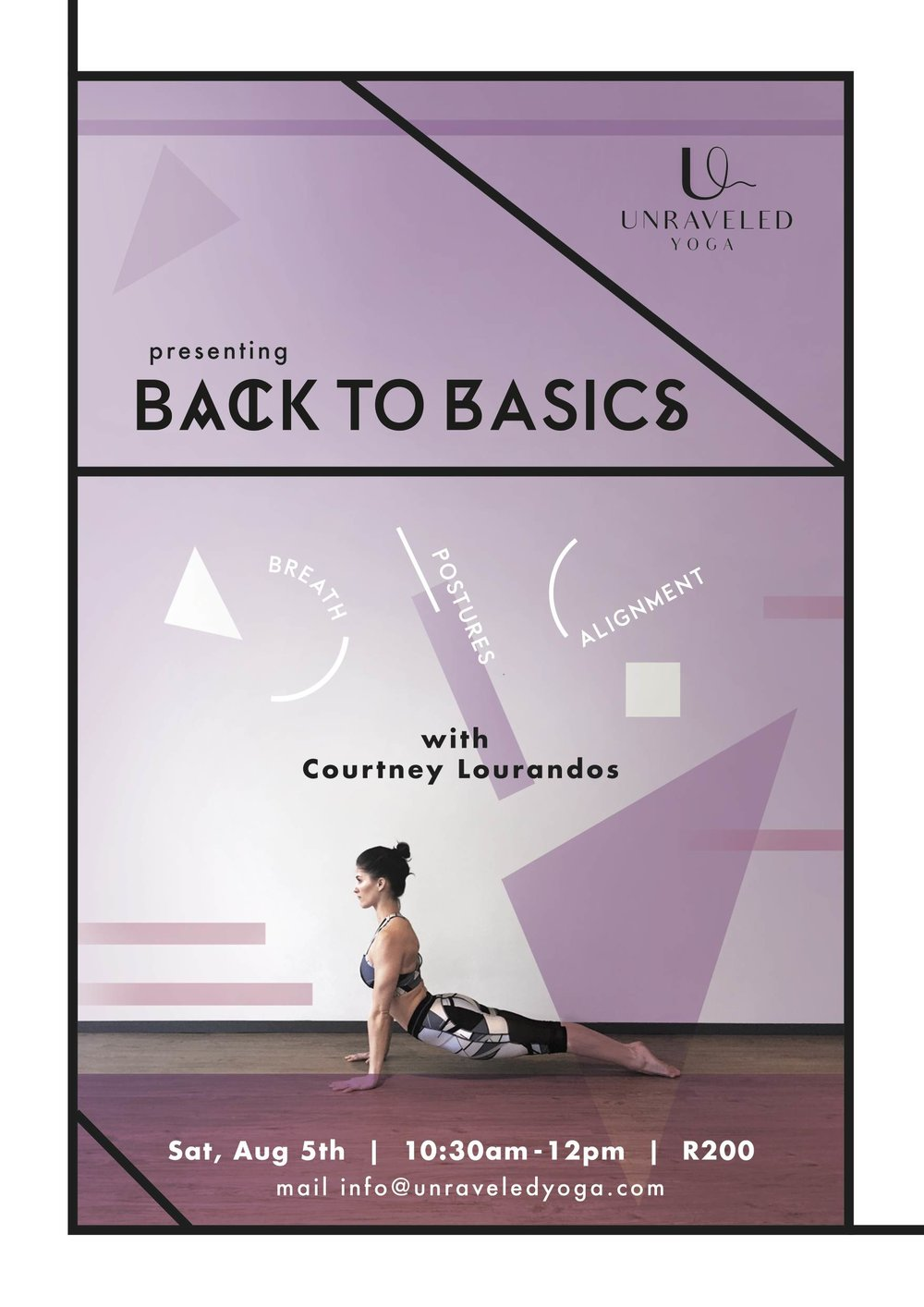 cape town yoga beginner basic workshop