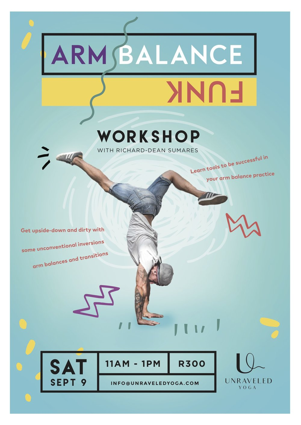 cape town yoga vinyasa arm balance workshop