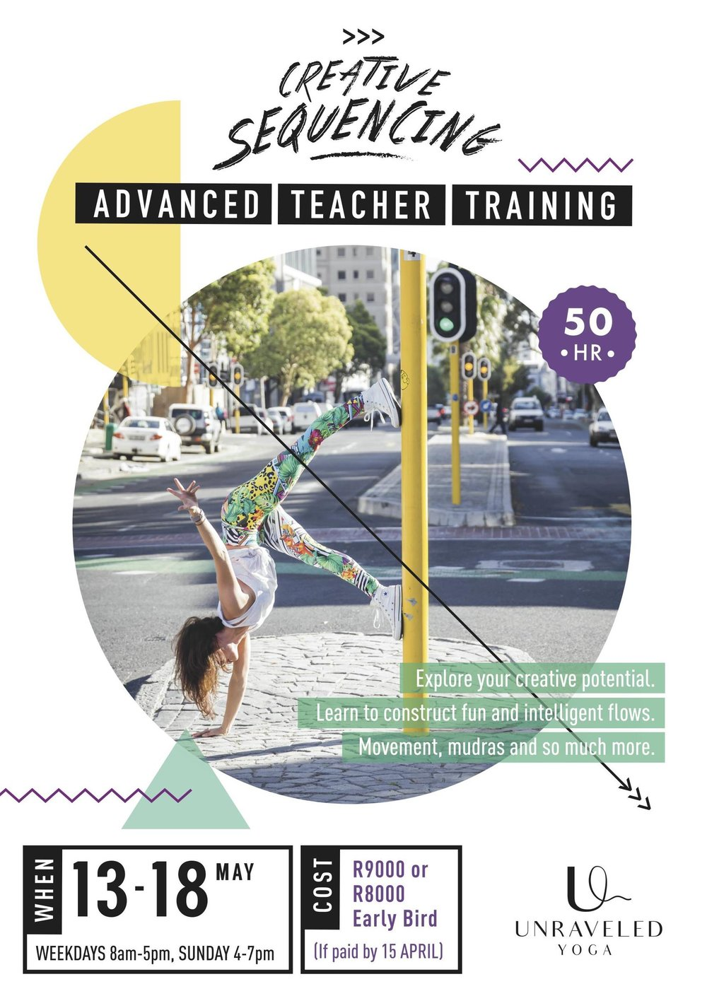 advanced teacher training creative sequencing cape town