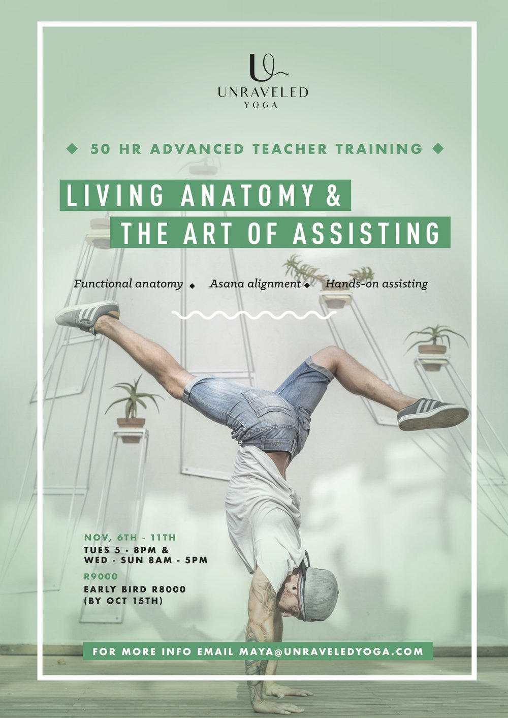 anatomy and assisting advanced teacher training