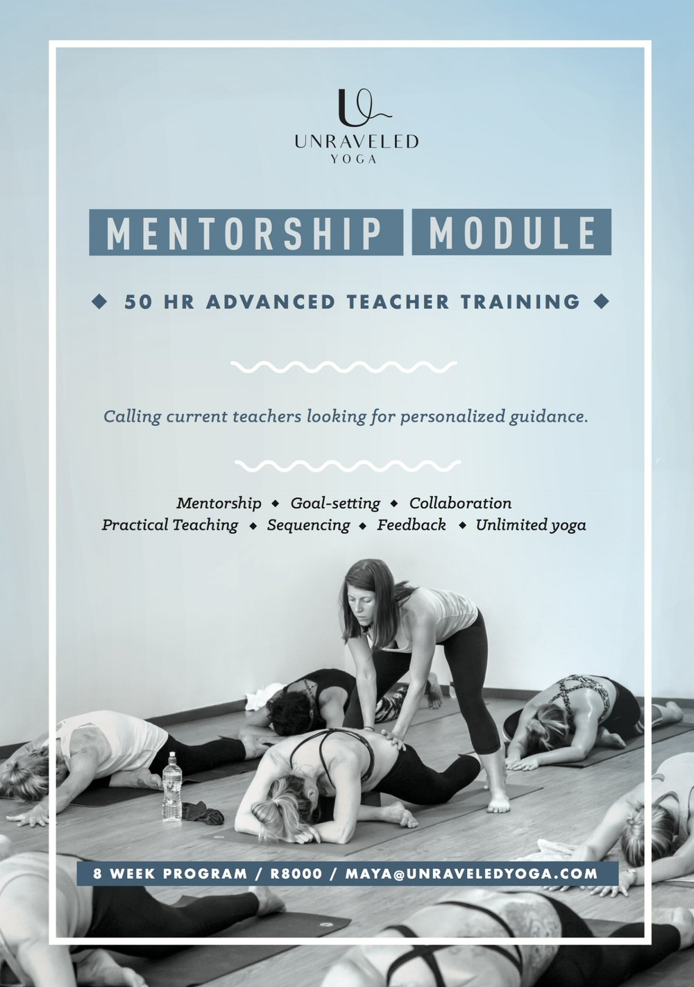 advanced teacher training mentorship cape town