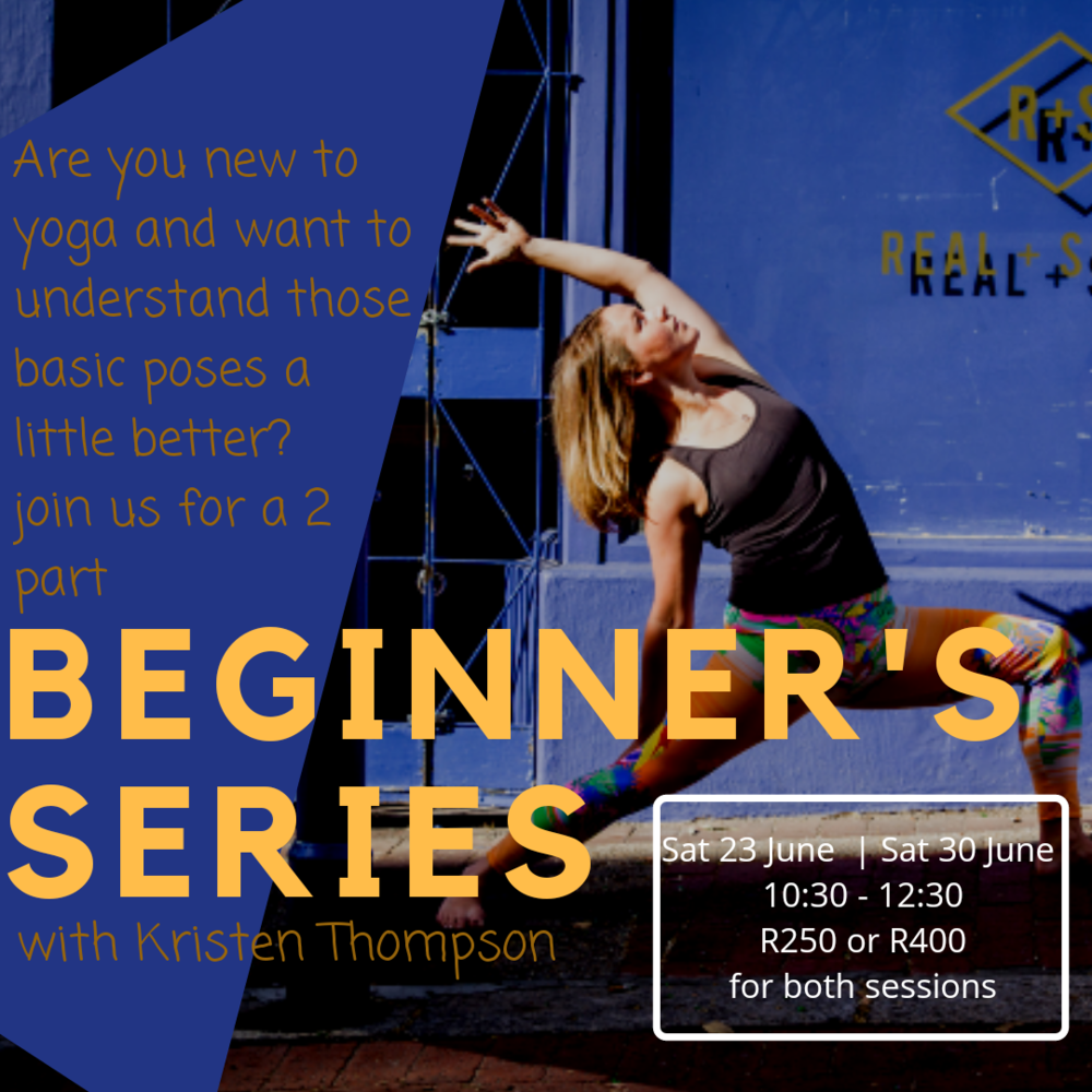 beginner yoga workshop series cape town