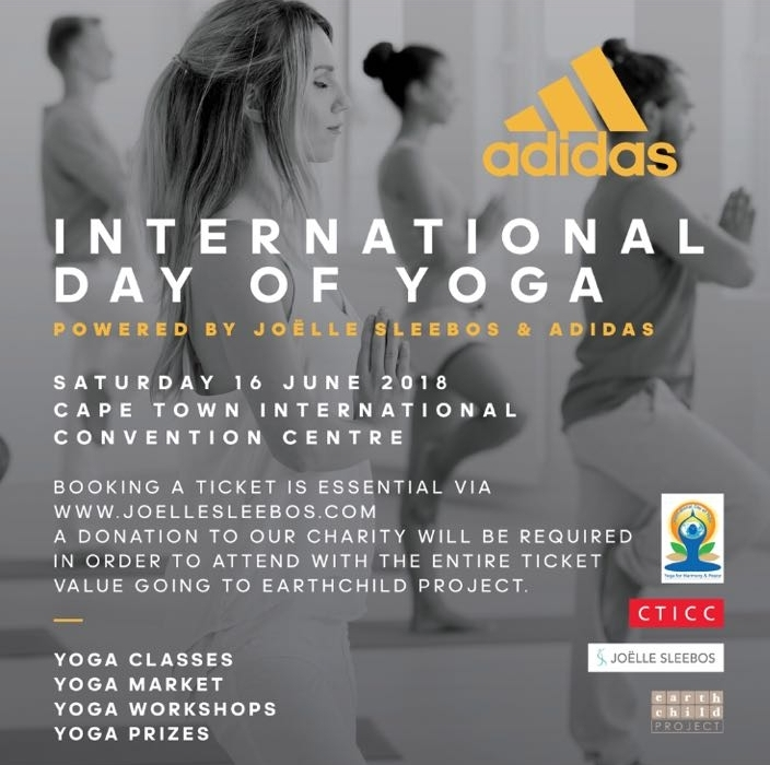 international day of yoga free tickets cape town