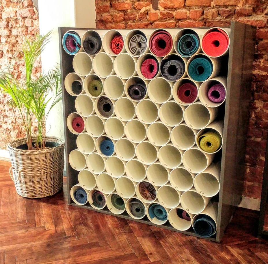 yoga mat storage and mat cleaning cape town