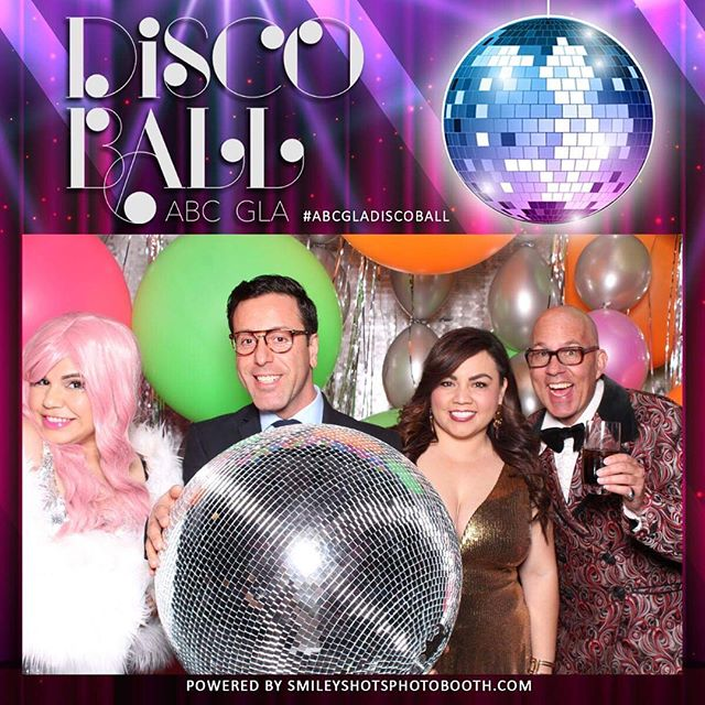 We're still on disco feels! What a fabulous event last Tuesday for @abc_gla Disco Ball! Thanks so much @anythingbutgrayevents for having us and it was great working with these awesome friendors: Planning & Design: @anythingbutgrayevents  Venue: @skirball_la  Glow Furniture, dancefloor: @abfabevents  Lighting,led wall: @4thdimensionproductions  Photography: @visualsbyarpit  Videography: @sergiofilms  Florals: @losangelesfloralcouture  Balloons: @balloonzilla  Tabletop, chairs: @mtb_event_rentals  Dessert: @sugarstudiola  Stationary: @jasminmichelledesigns  MC/Dj: @thesenoramor  Dancers: @dancewithemma  Photobooth: @smileyshotsphotobooth  #smileyshots #skirballculturalcenter #abcgladiscoball