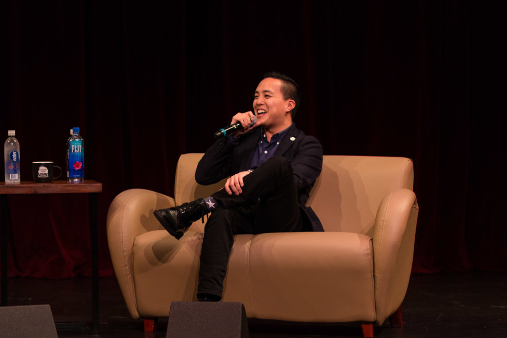 APASA's Speaker Event with Alan Yang (PC Austin Chee)