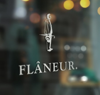 Logotip de l'Editorial Flâneur