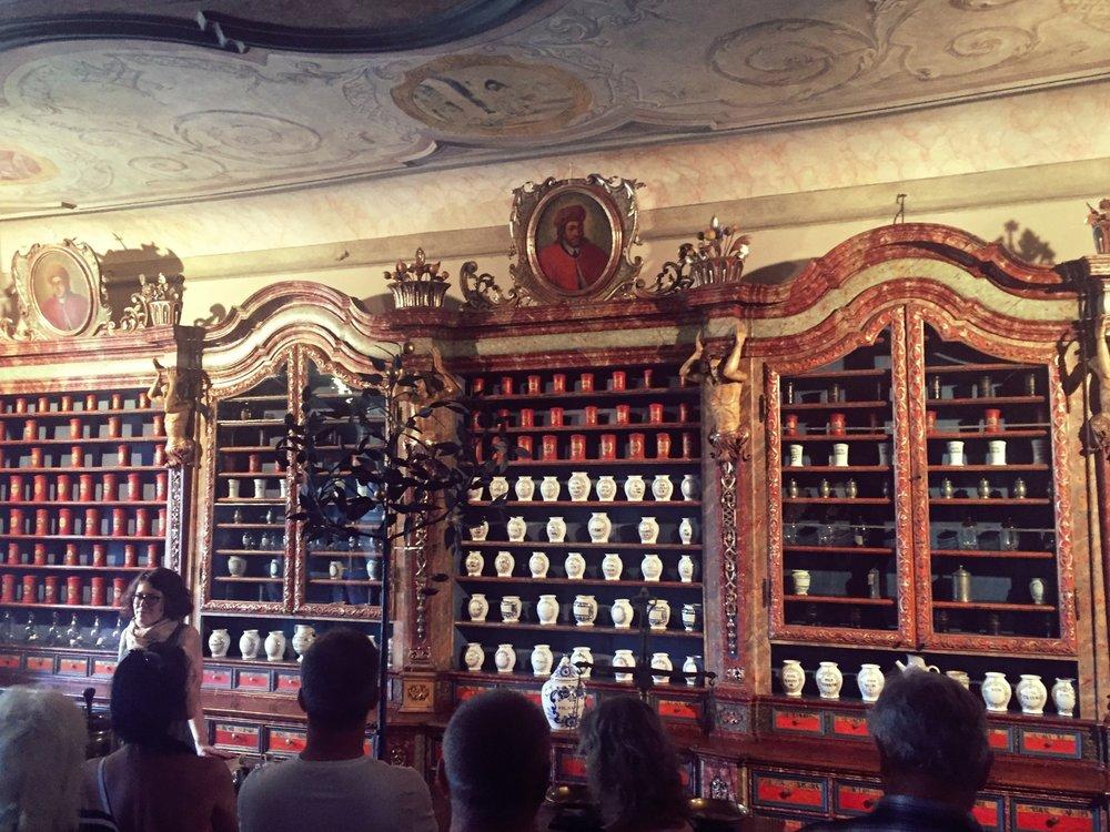 Barokní lékárna