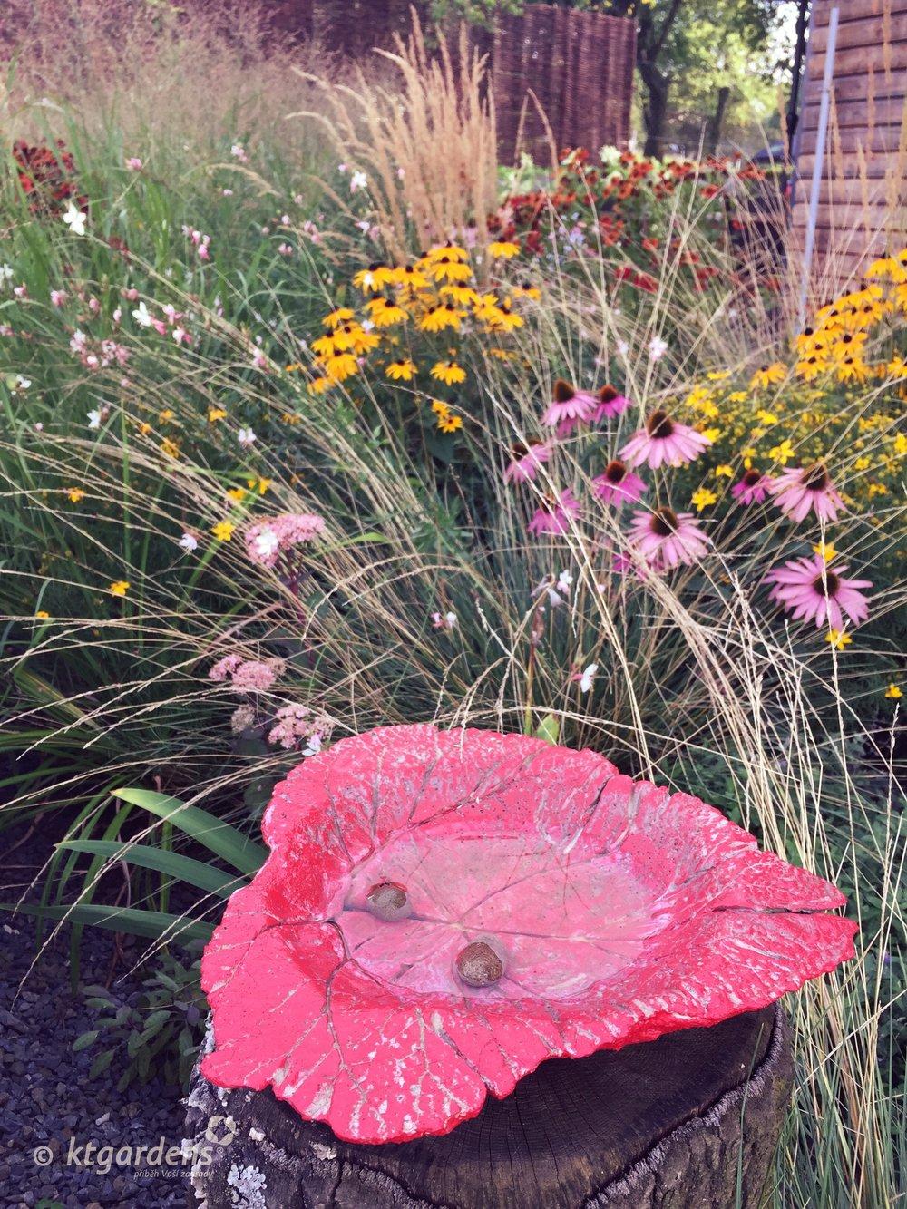 zahrada Štramberk, ktgardens, léto, moderní zahrada