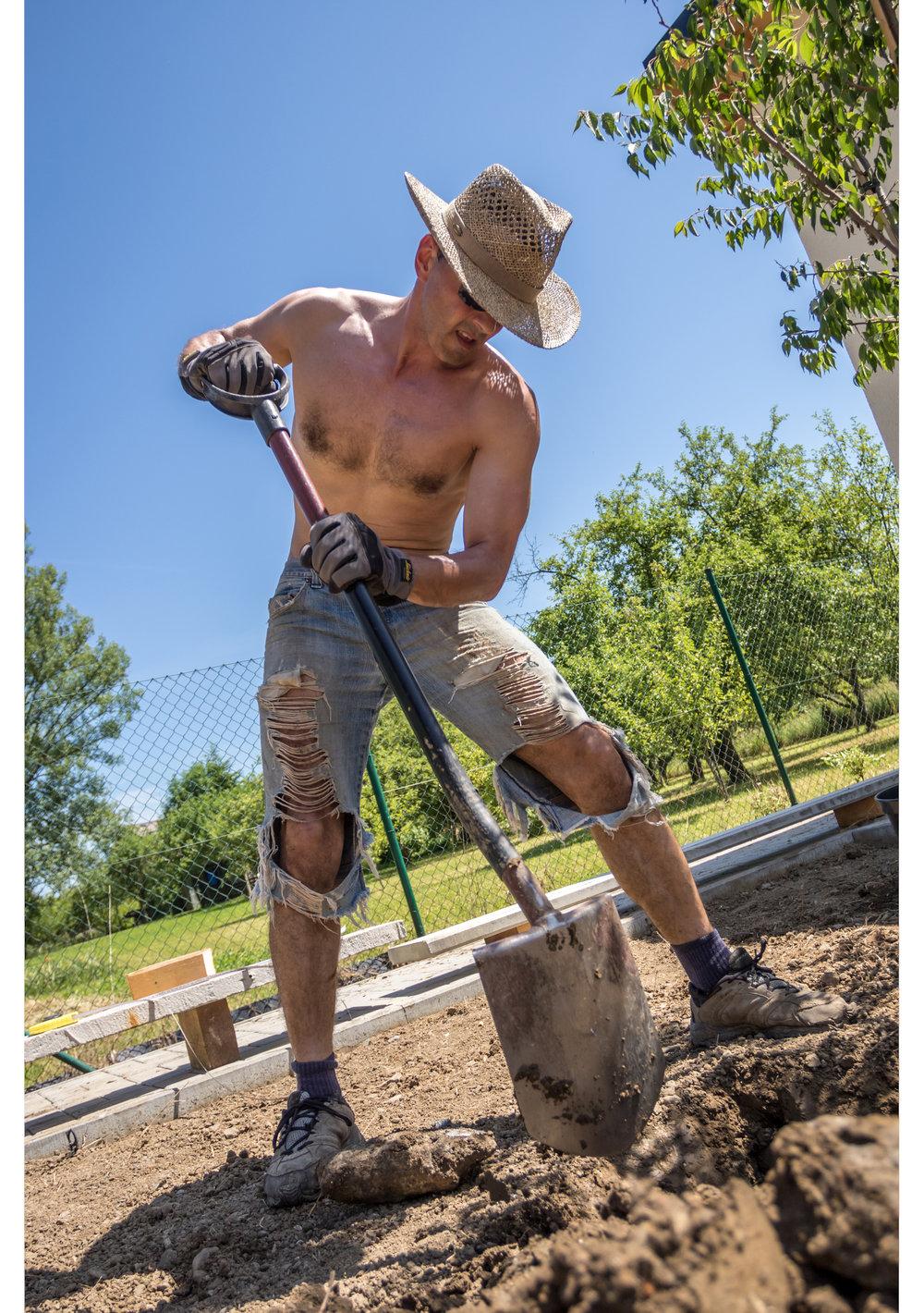 KTgardens, realizace zahrady, hasiči