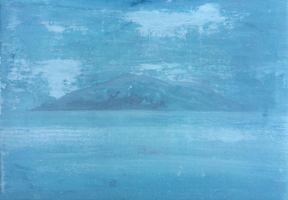 GULDEN, Diary 2018-04-16, 21 x 29,7 cm, Öl / Nessel