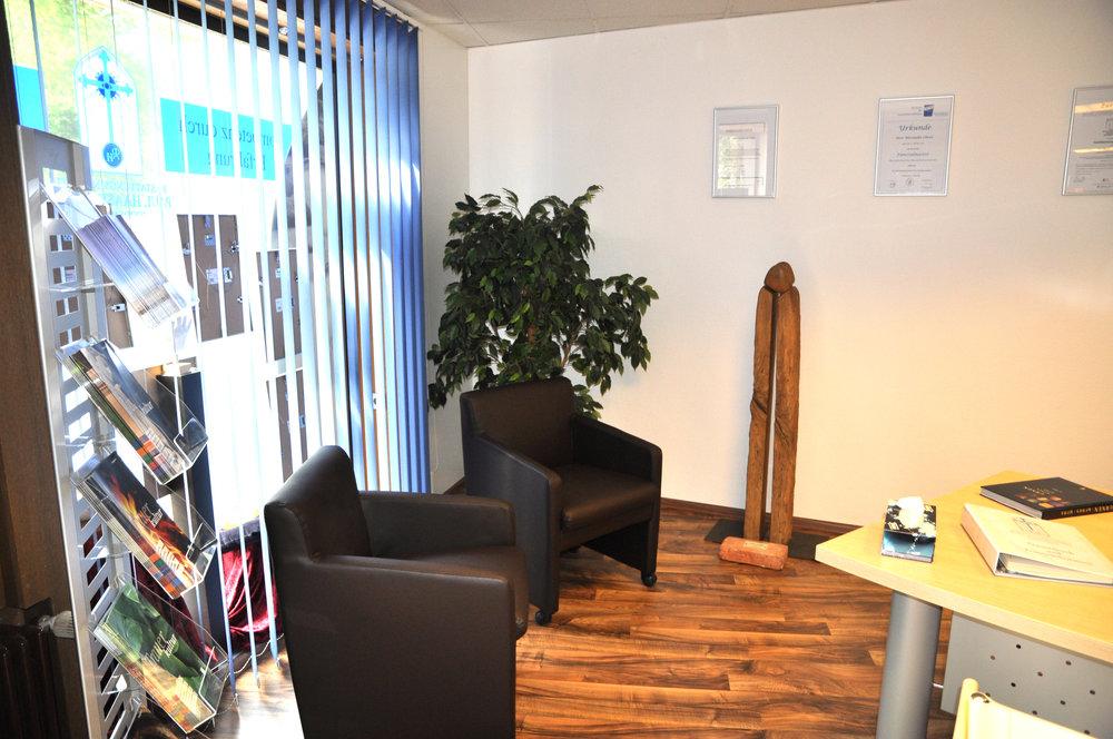 Beratungsbereich Büro Warmensteinach