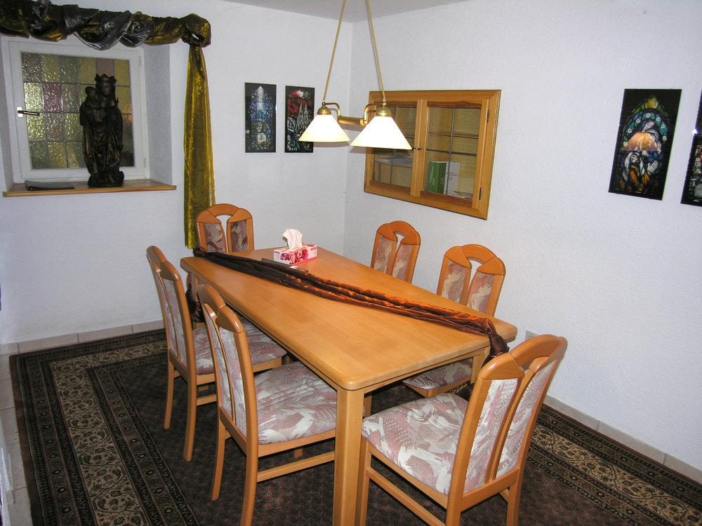 Beratungsbereich Büro Weidenberg