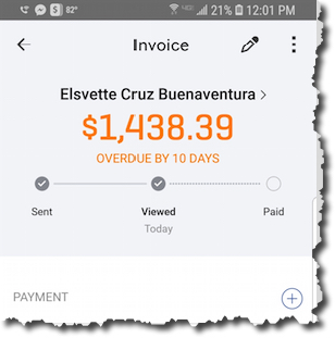 QuickBooks Online lets you do much of your accounting work when you're away from the office with its mobile app