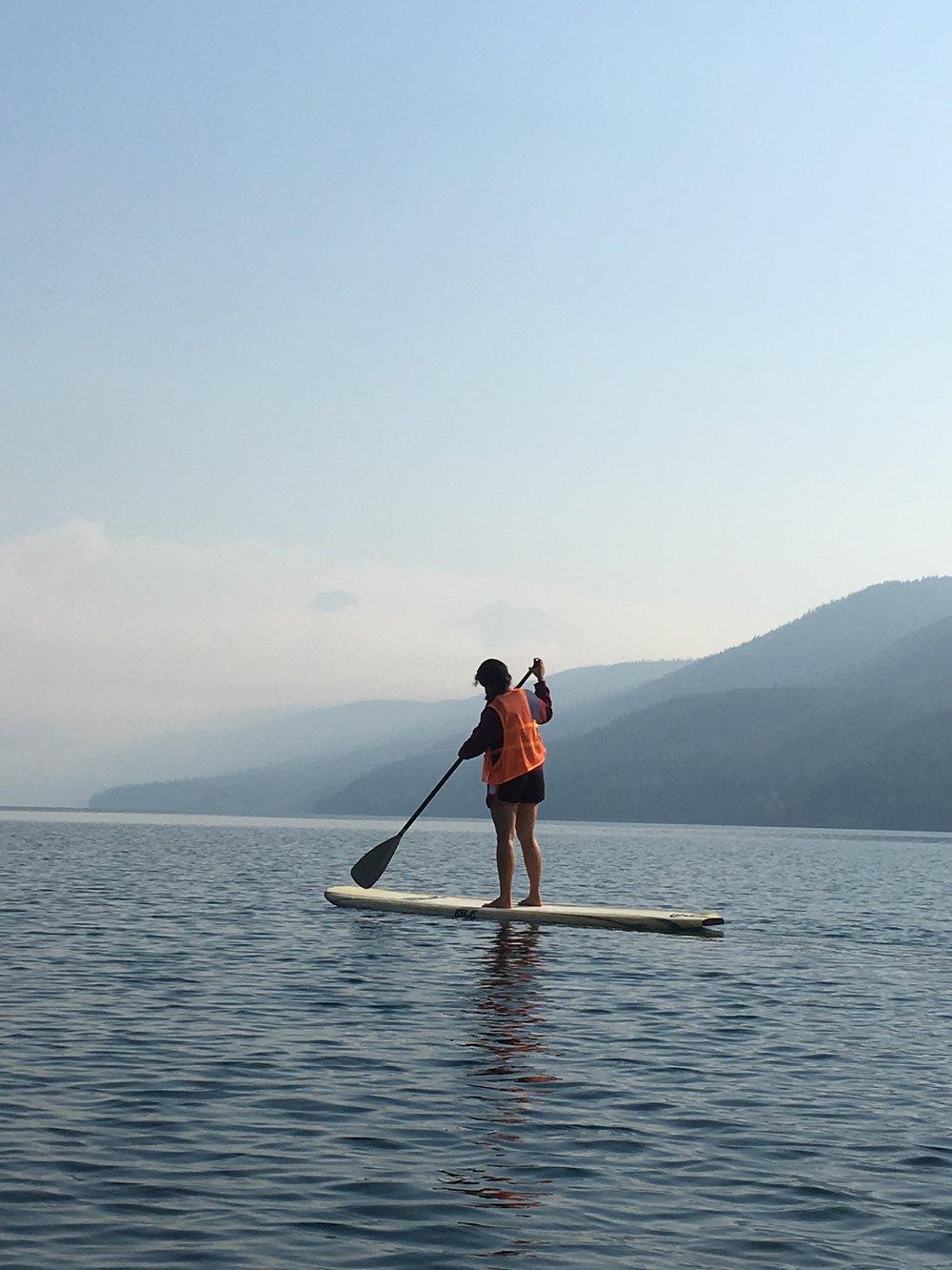 Zen paddling