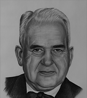 Ashley Colter was a prominent Fredericton businessman and founder of Diamond Construction Ltd.  His work has changed the face of buildings at UNB, the Trans-Canada Highway, the Fredericton and Halifax airports, docks in Saint John, Halifax and Dartmouth City Hall, the Pointe-du-Chène Wharf and the Princess Margaret Bridge.     Ashley Colter était un homme d'affaires important de Fredericton et le fondateur de Diamond Construction limitée.  Ses projets de construction ont profondément changé le Canada atlantique, y compris des édifices à UNB, l'autoroute transcanadienne, les aéroports de Fredericton et Halifax, des quais à Saint John, l'hõtel de ville à Dartmouth, le quai à Pointe-du-Chéne et le pont Princesse Margaret.